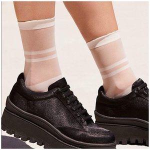 Free People Elouise Anklet Socks NWT